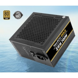 Antec Neo Eco Zen 700W Psu 80+ Gold,120Mm Silent Fan, Thermal Manager, Japanese Caps, 5 Years Warranty