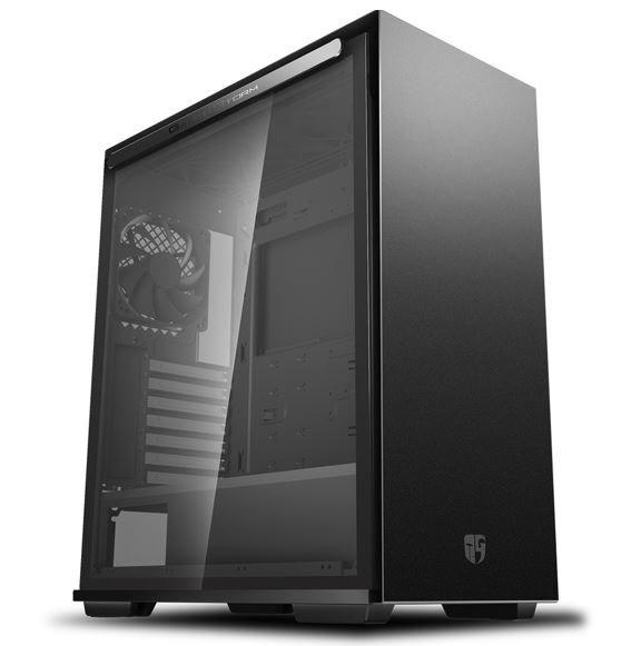 Deepcool Macube 310 BK Tempered Glass Case Black Usb3.0*2, 7+2 SLOTS,Mini-ITX/mATX/ATX