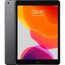 "Apple iPad (7th Generation) Tablet - 25.9 cm (10.2"") - 32 GB Storage - iPad OS - Space Gray(EDU)"