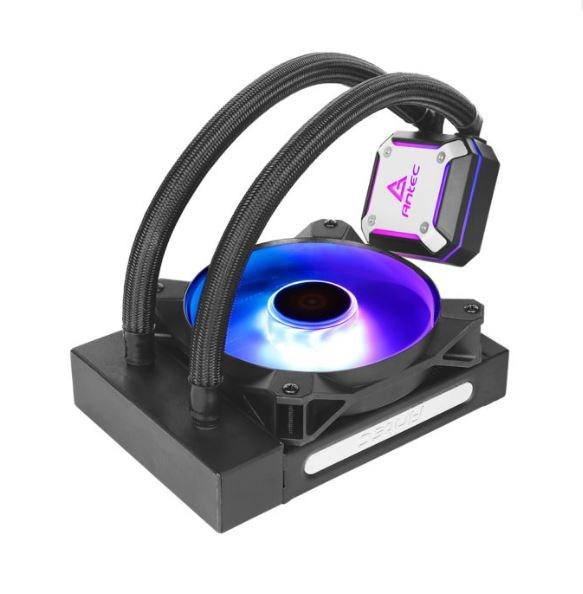 Antec Neptune 120 Argb Advanced Liquid Cpu Cooler, PWM Led Fan, Ptfe Tubing, Lga 115X, 2011-V3, 2066, Am4, Am3+ FMx, 3 YRS Warranty