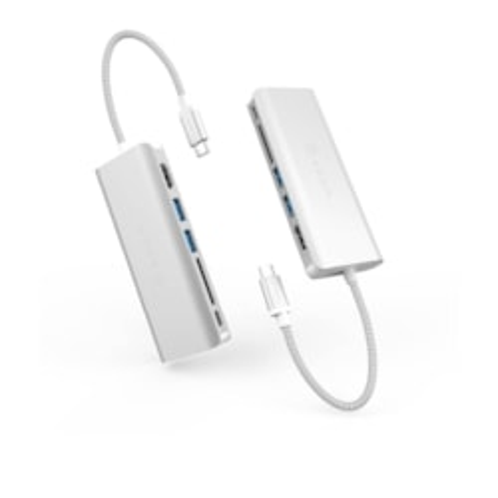 Adam Elements Usb-C 3.1 - 6 Port Hub - Silver
