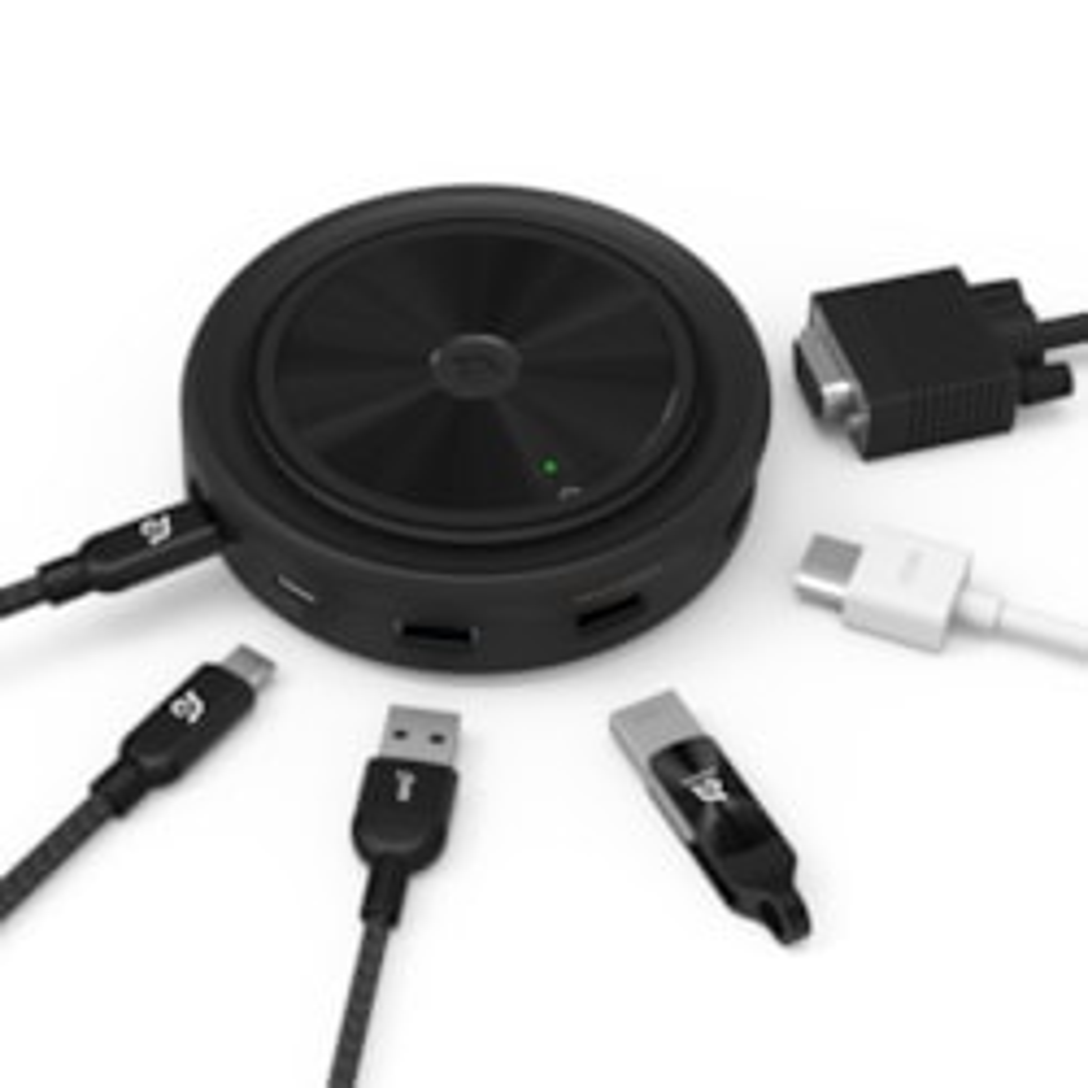 Adam Elements Usb-C 3.1 7 Port Wireless Charger Hub
